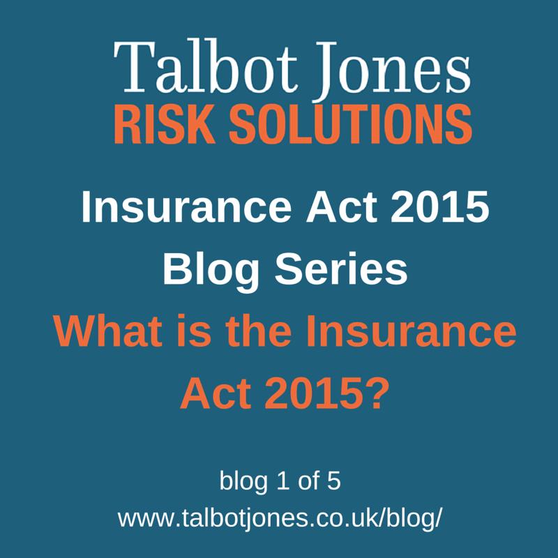 Insurance Act 2015 1