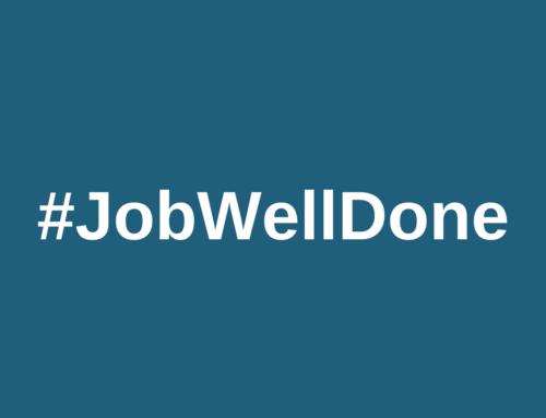 Share a #JobWellDone